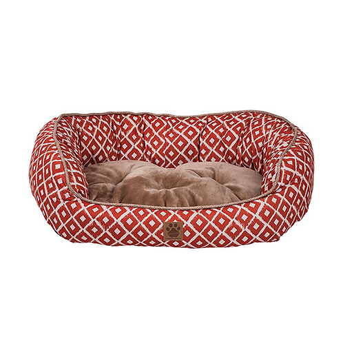 Snz Ikat Daydreamer Bed Orange 32x25x9.5""