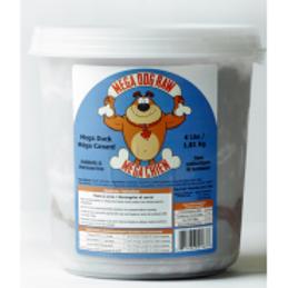 Mega Dog Raw Duck Tub 4 lb