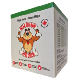 Mega Dog Raw Blend Patties 4 lb