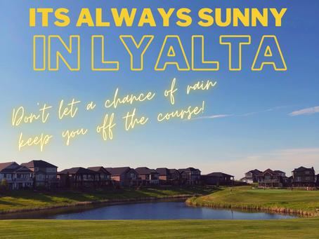 It's Always Sunny in Lyalta - Prize Draw