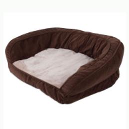 Precision Chevron Couch Daydreamer 42x34x11.5 Chocolate