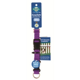 "PetSafe Keep Safe Collar Small 3/4"" Deep Purple"
