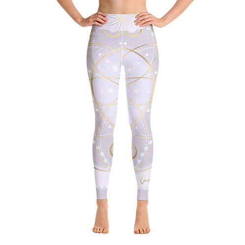 Platinum Ray Yoga Leggings