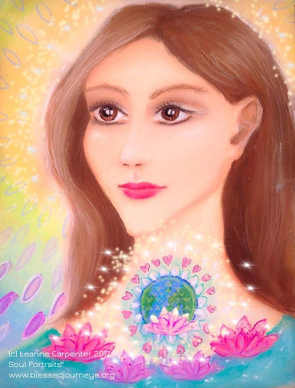 Starchild Activation (Oracle,Portrait Reading, 6 Meditations, 6 Greetings Cards)