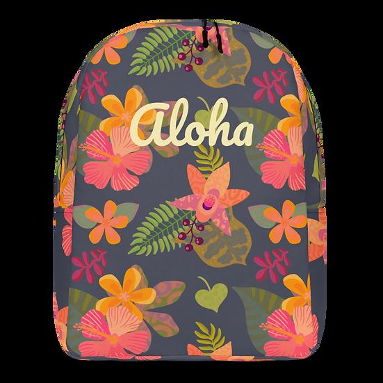 Hawaiian Aloha Minimalist Backpack