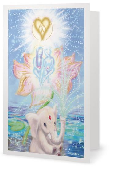 "x 5 ""Star Children"" Greetings Cards (Order Code GC 15)"