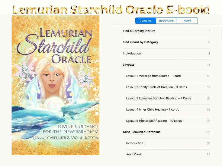 Lemurian Starchild Oracle e-book