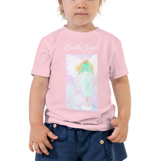 Earth Angel Toddler Premium Tee | Bella + Canvas 3001T