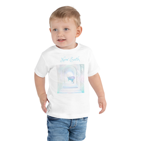New Earth Toddler Premium Tee | Bella + Canvas 3001T