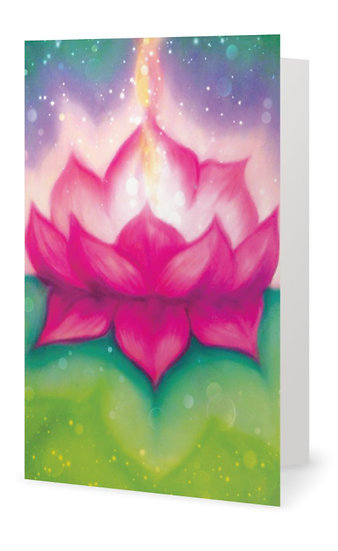 "x 5 ""Blessings"" Greetings Cards (Order Code GC 1)"