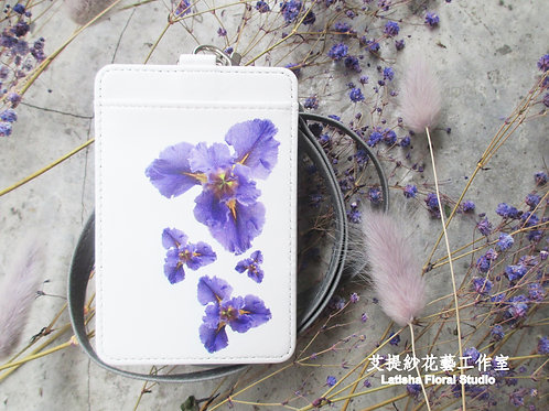 Identification Card Case, Iris