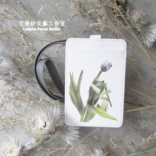 Identification Card Case, Tulip
