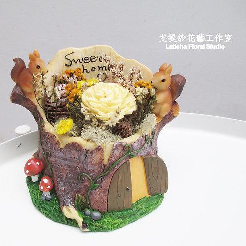 樹屋系列-松鼠