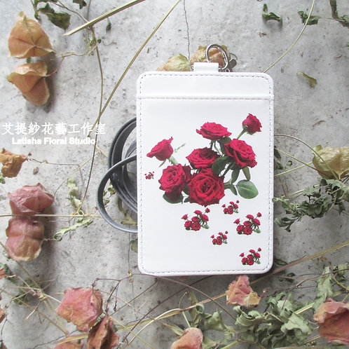 Identification Card Case, Rose