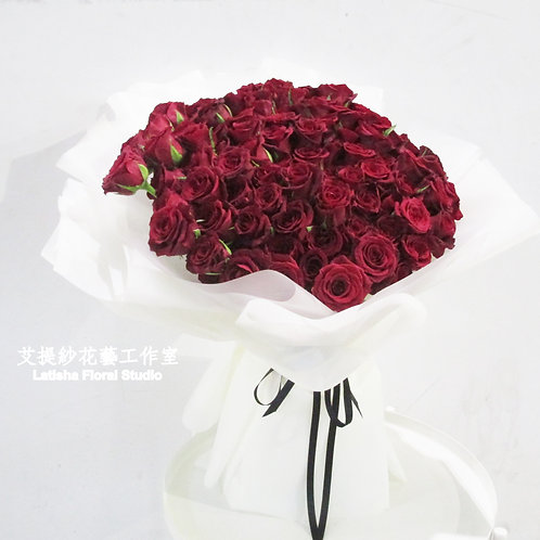 99 Roses bouquet-Forever