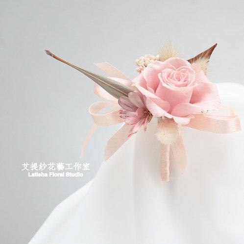 胸花(永生花+乾燥花)