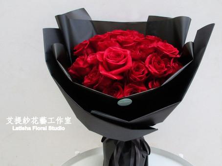 艾提紗經典進口紅玫瑰花束