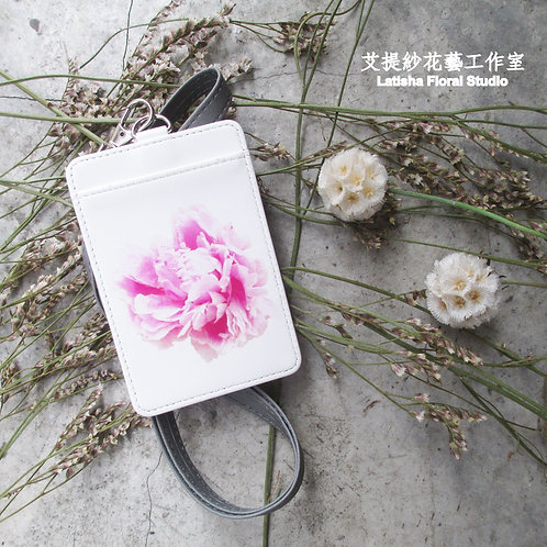 Identification Card Case, Peony