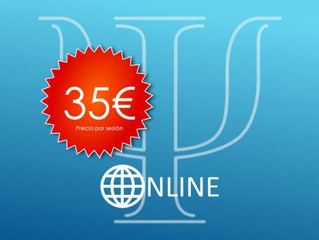 Consulta Online (35€/sesión) (FINALIZADO)