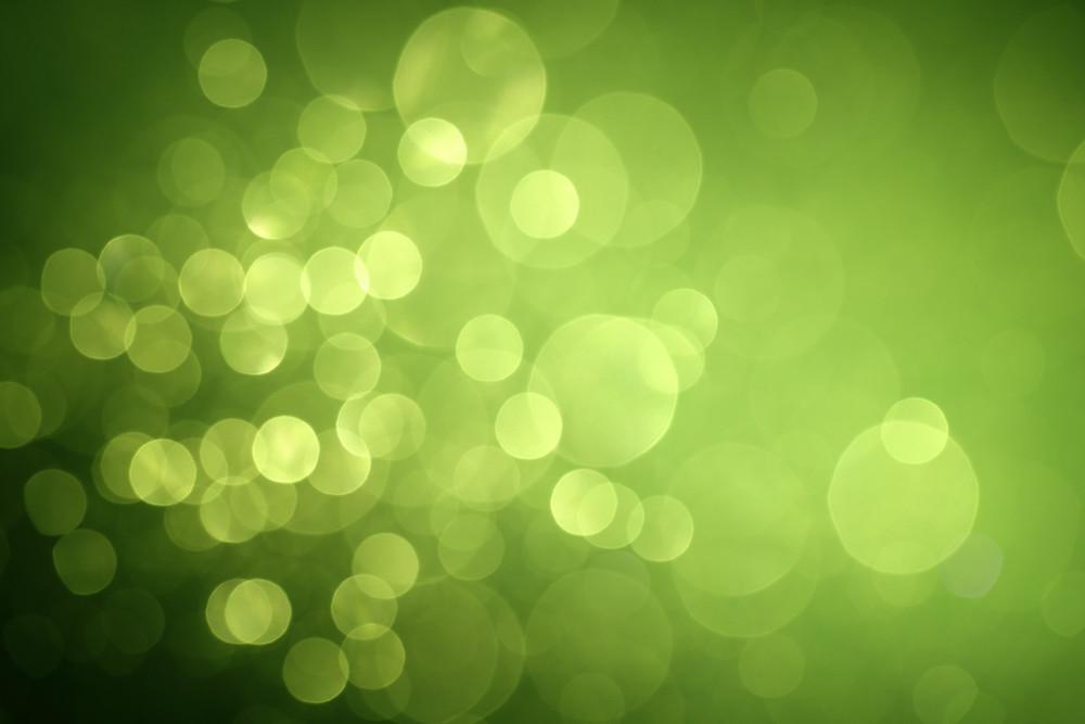Burbujas - Luces - Verde