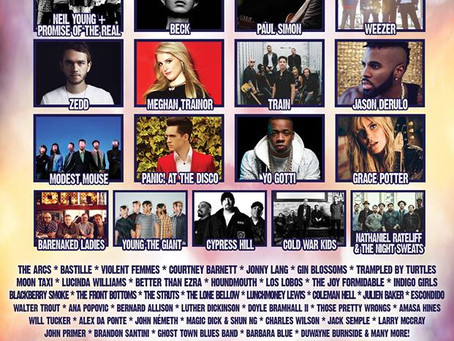 2016 Music Festivals On The Radar