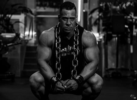 Bodybuilder: Big Lou (Off-Season Shoot)
