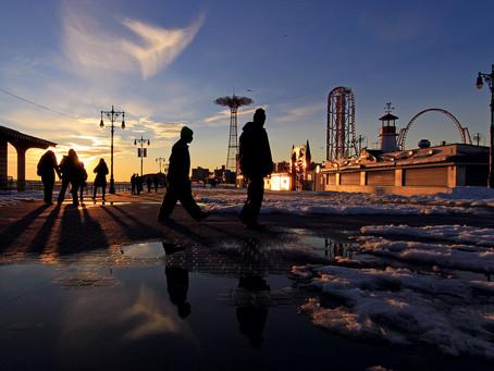 Saturday on Coney Island