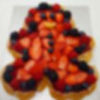Frugt Kagemand med kagebund (kun frugt s