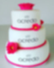 _acredo_lounge Logo wedding cake with ho