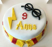Harry Potter cake for 9yr old Anna who l