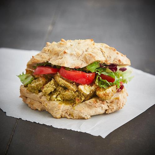 Kylling pesto sandwich