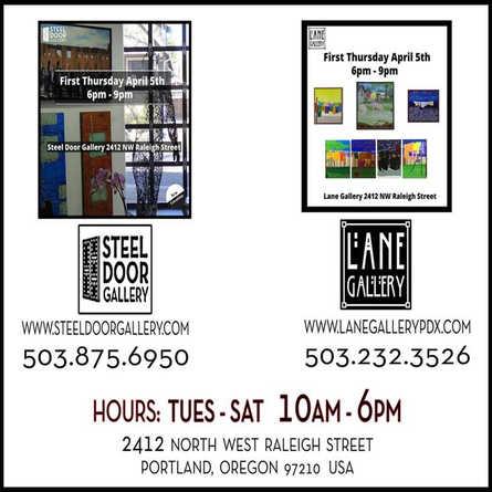 First Thursday @ Lane Gallery 03/29/18