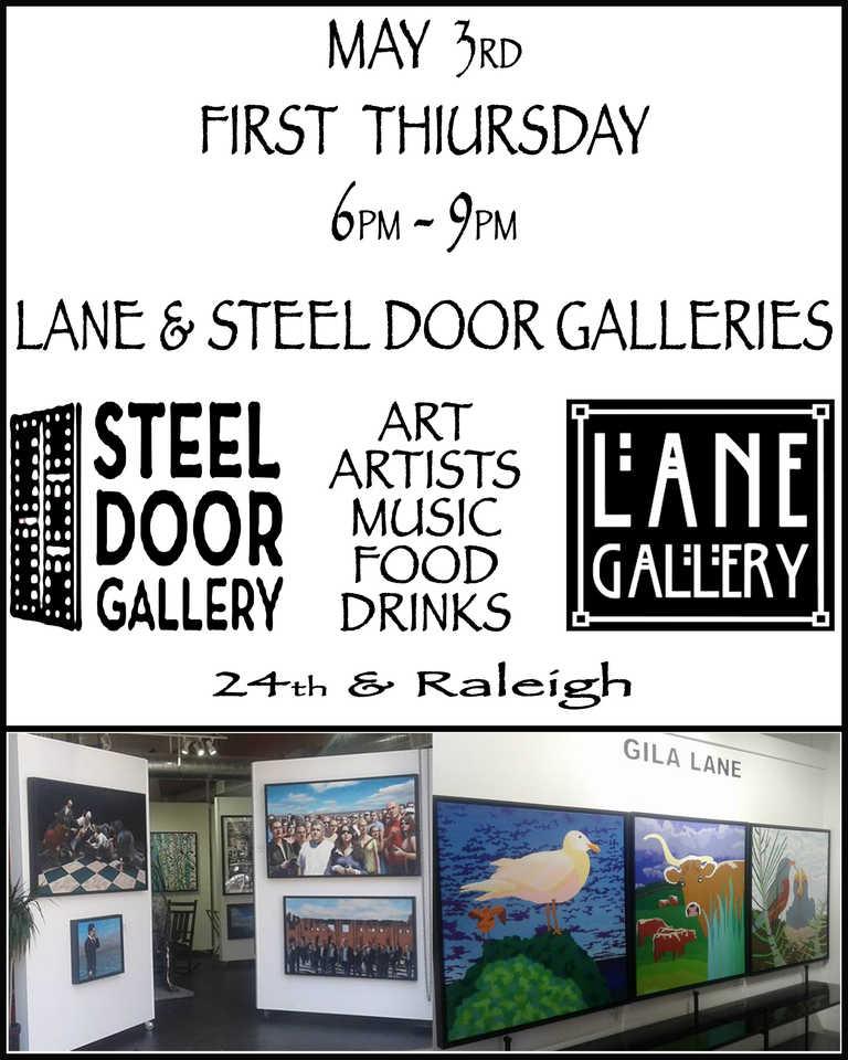 First Thursday @ Lane Gallery 05/03/18