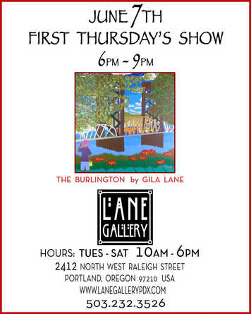 First Thursday @ Lane Gallery 06/07/18