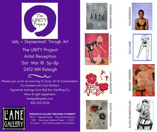 Lane Gallery Unity Project 03/18/17
