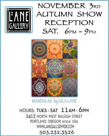 Lane Gallery 11/03/18