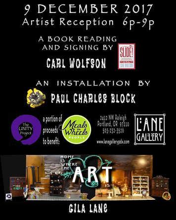 Lane Gallery – Carl Wolfson – Paul Block 12/09/17