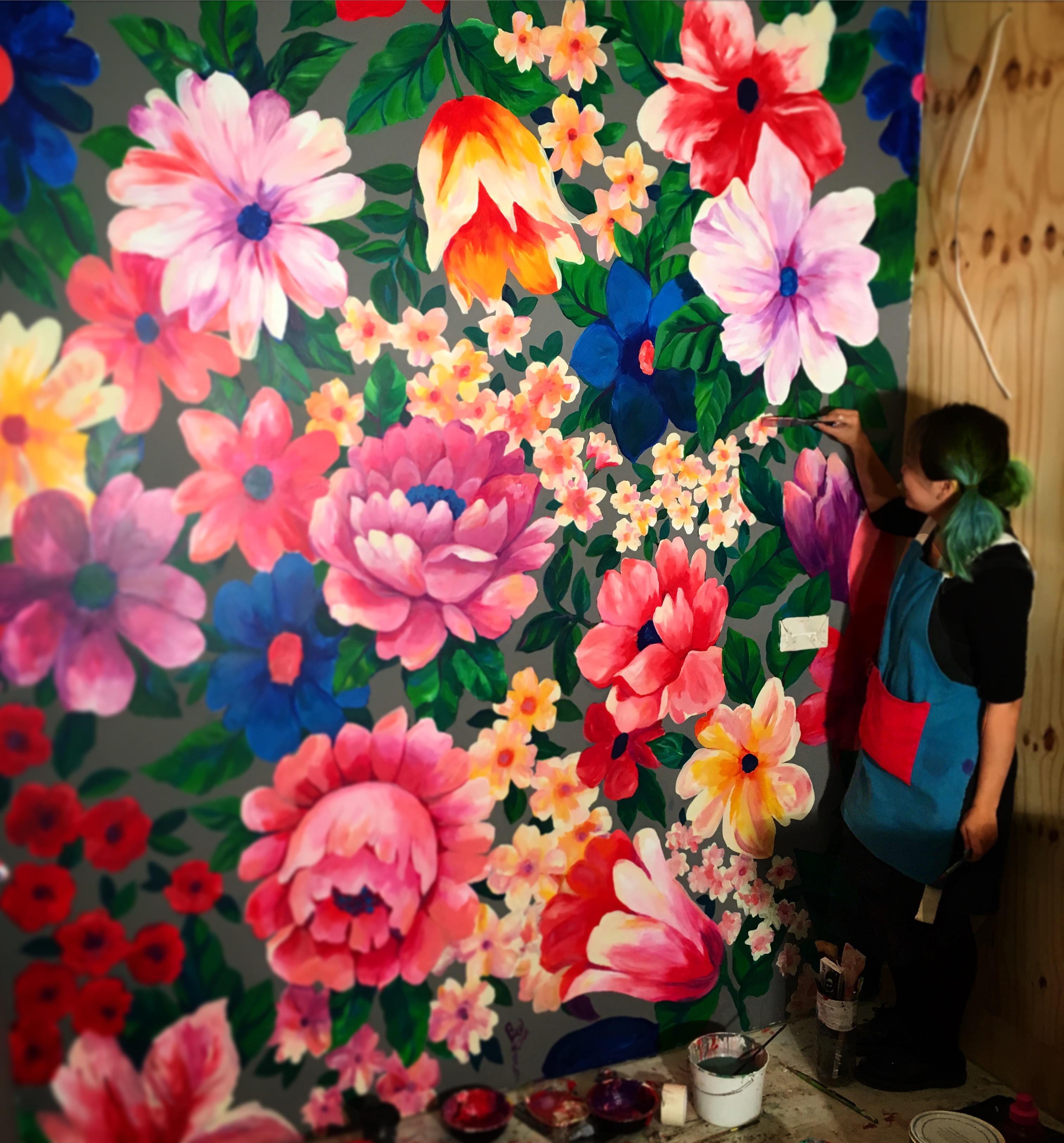 Mural painting in BaoBao