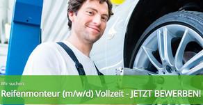 Kfz-Mitarbeiter (m/w/d) (Reifenmonteur/in) 68169 Mannheim - Vollzeit-Top Jobs, bei bei EXPERT SELECT