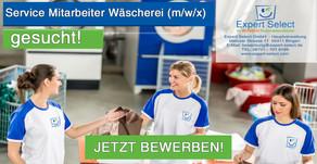 Service Mitarbeiter (m/w/x) Wäschrei 55543 Bad Kreuznach bei Ihrem WUNSCH Personaldienstleister.