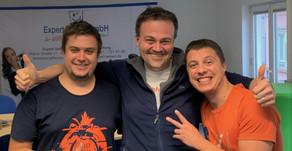 Ehemalige Mitarbeiter besuchen die Expert Select GmbH in Bingen am Rhein
