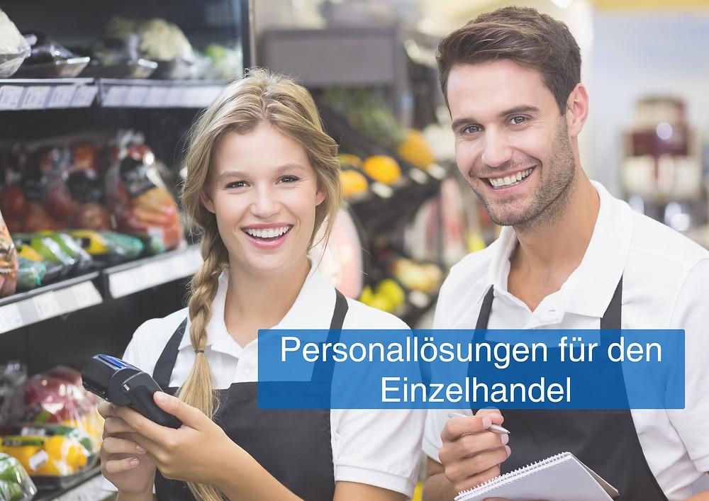 Zeitarbeit Einzelhandel, Personaldienstleister Handel, Mitarbeiter Einzelhandel, Zeitarbeit Kassierer, Verkaufshilfen bundesweit