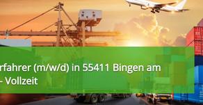 Staplerfahrer (m/w/d) in 55411 Bingen am Rhein Vollzeit - Schubmast TOP Stellenangebot und Jobs