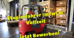 Gabelstaplerfahrer/in, 55411, Bingen am Rhein, Rheinland-Pfalz, Vollzeit, Stellenangebote, Job