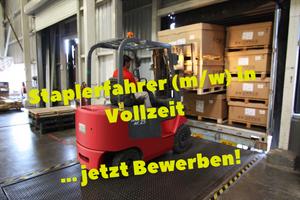 Gabelstaplerfahrer/in, 55411, Bingen am Rhein, Rheinland-Pfalz, Vollzeit, Stellenangebote, Stellenanzeige, job