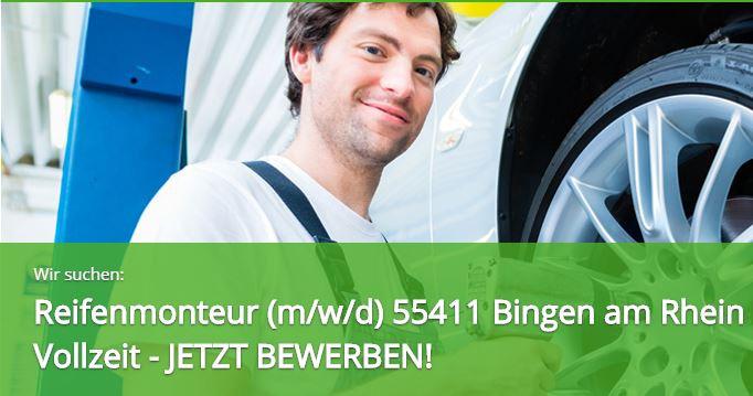 Reifenmonteur/in, 55411, Bingen am Rhein, Rheinland-Pfalz, Vollzeit, Stellenangebote, Stellenanzeige, job, Zeitarbeitsfirma Expert Select