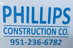 Tony Higa Airshows|Sponsor | Phillips Construction Co.
