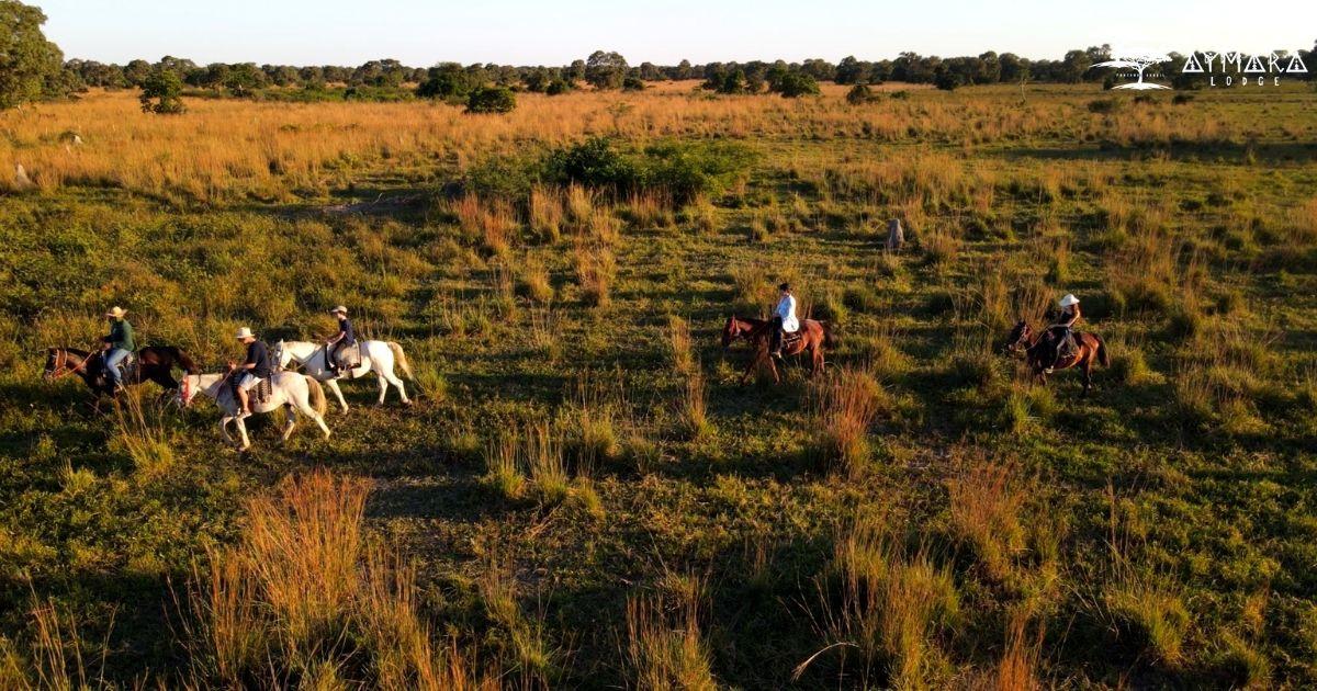 Aymara Lodge Pantanal -Cavalgada