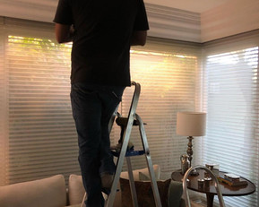 Instalação e manutenção de persianas