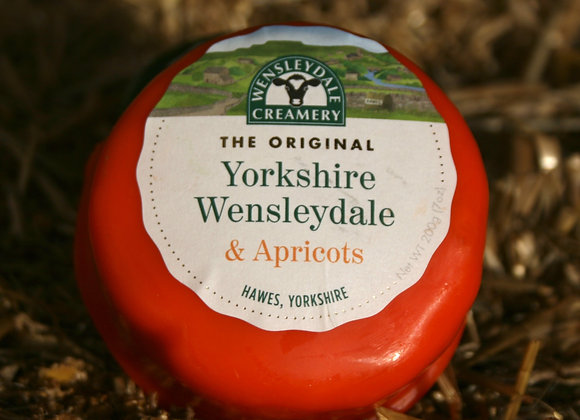 Yorkshire Wensleydale with Apricots